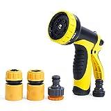 Garden Hose Nozzle/Hose Nozzle Heavy Duty,10 Spray Type - Best Reviews Guide