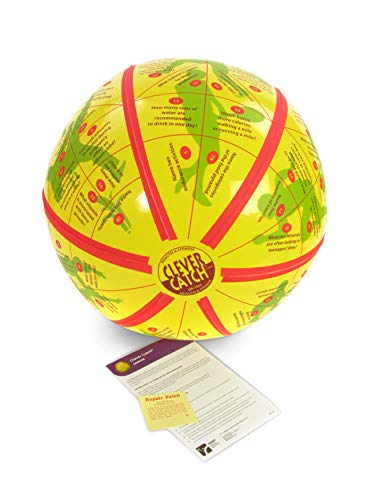 - American Educational Vinyl Clever Catch Exercise Ball, 24