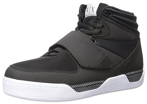 Top Top A X Sneaker Sneaker Exchange Hi Hi Armani Black Mens gnaXSq8afp
