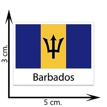 Barbados flag temporary tattoos sticker body tattoo