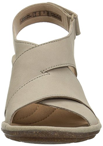 CLARKS Women's Sashlin Nolte Heeled Sandal Sand Nubuck cheap sale 2014 SIdS4j