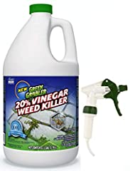 Vinegar Weed & Grass Killer by Green Gobbler is a Natural Weed Killer and the best and the easiest way to eliminate weeds fast. This Organic Weed Killer is approved for Organic Use. While Other Weed Killers use dangerous chemicals, Green ...