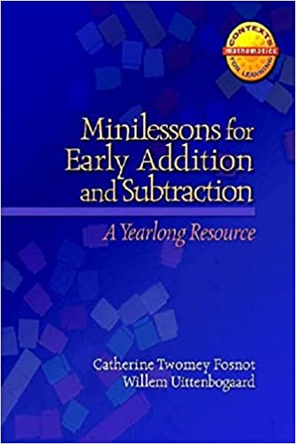 Amazon.com: Minilessons for Early Addition and Subtraction: A ...