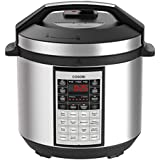 COSORI Electric Pressure Cooker 6 Qt 8-in-1 Instant Stainless Steel Pot, 16 Program Slow Cooker, Rice Cooker, Steamer, Yogurt Maker, Sauté, Warmer with Extra Glass Lid & Sealing Ring, 2-Year Warranty
