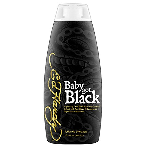 - Ed Hardy Baby Got Black Super Dark Black Bronzing Cocktail Sunbed Lotion 300ml