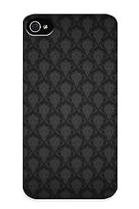 Catenaryoi Perfect Tpu Case For Iphone 4/4s/ Anti-scratch Protector Case (fabric Pattern )