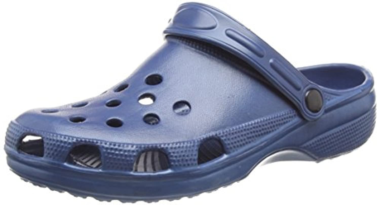 Clogs Gardern Nurse Hospital Beach Kitchen Shoes Holiday Sandals Slip On Cloggis (SIZE UK 8, Pink)