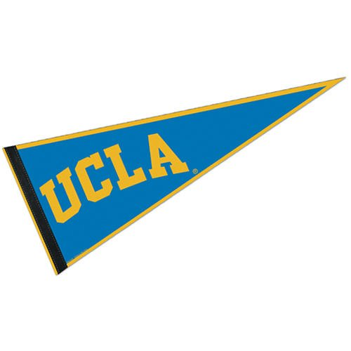 "Wincraft NCAA UCLA WCR63952413 Carded Classic Pennant, 12"" x 30"""