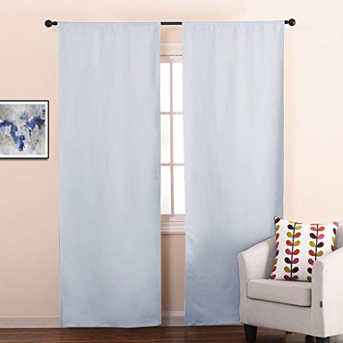 NICETOWN Curtain Liners for Window Noise Reducing Light Blocking Liner Curtains