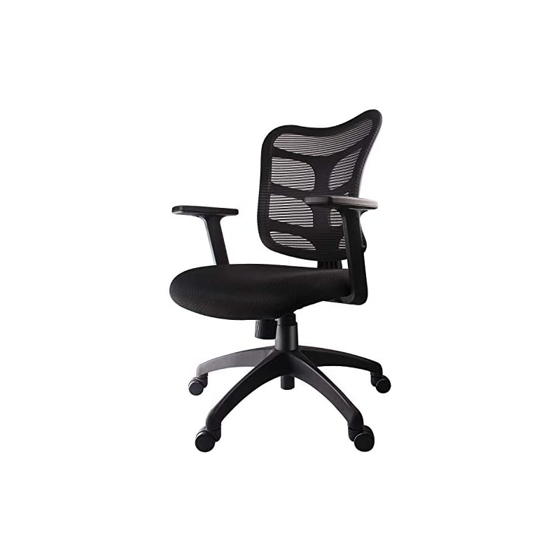 Smugdesk 0581F Ergonomic Office Mesh Com