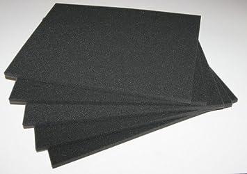 Almohadillas de espuma para embalaje de cámara, 360 x 265 x 10 mm, 5 unidades: Amazon.es: Electrónica