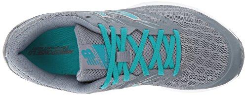 New Balance Womens Flash V1 Running Shoe Gunmetal/Pisces FY6al
