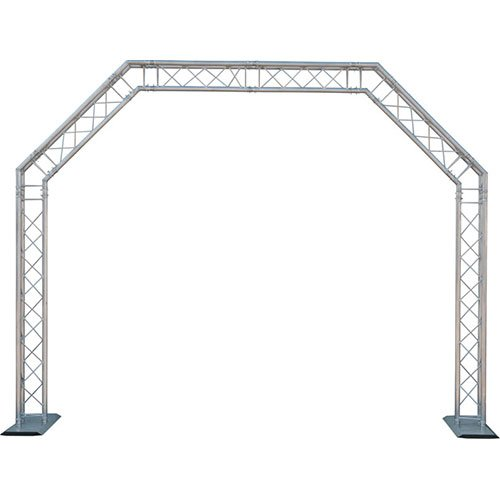 Mobile Truss System - GLOBAL TRUSS 10 x 8 ft. Mobile Arch Goal Post Truss System