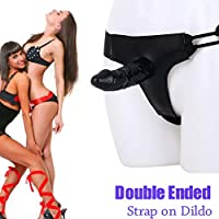 Juguetes eroticos Correa de consolador de 5,9 pulgadas en arnés ...