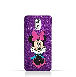 Lenovo Vibe P1m TPU Silicone Case with Minnie Mouse Lovely Smile Design