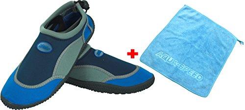 Aqua En Enfants Femmes D'eau Néoprène Marine Ensemble Bleu Hommes Chaussures Gris Microfibre 21a Aquatiques speed Unisexe Serviette Adolescents Modèle XSrxAX