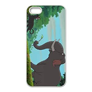 iPhone 4 4s Cell Phone Case White Disney The Jungle Book Character Colonel Hathi Xcovk