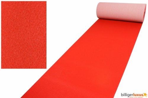 Roter Teppich VIP Red Carpet Läufer Event Teppich Premierenteppich rot 1m, Länge:600 cm