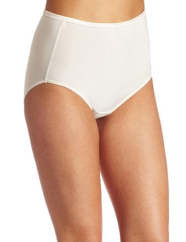 Vanity Fair Women's My Favorite Pants Illumination Brief #13109, Sweet Cream, 6 ()