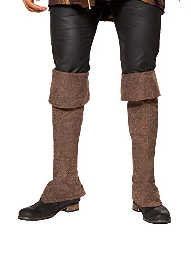 Roma Costume Pirate Boot Covers w/ Zipper Detail