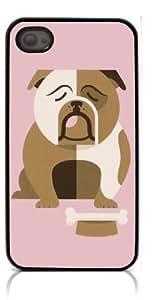 HeartCase Hard Case for Iphone 4 4G 4S (Bulldog Dog )