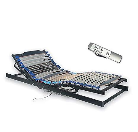 matratze für mich by MATRABELLA Elektrischer Motor-Lattenrost Ela   Kopf- und Fußteil elektrisch verstellbar.