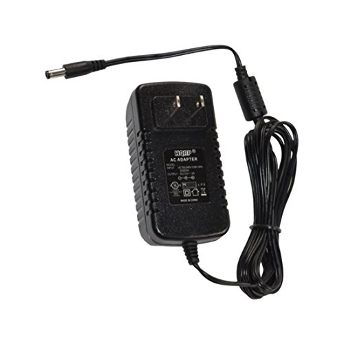 HQRP 12V AC Adapter for Ion Classic LP, Max LP Conversion Turntable Power Supply Cord Adaptor [UL Listed] + HQRP Euro Plug Adapter