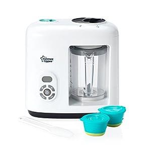 Tommee Tippee Baby Food Steam Blender, White 41Tlee4dXOL