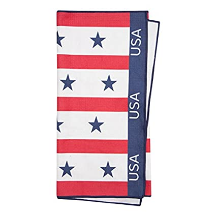 Amazon.com: USA Patriot – PREMIUM Tour Golf Toalla