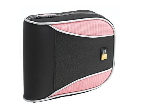Case Logic CSW-32 32 Capacity Sport CD Wallet (Black/Pink)
