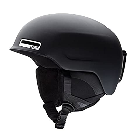 Smith Optics Unisex Adult Maze Snow Sports Helmet - Matte Black Small (51-55CM) - Smith Maze Audio