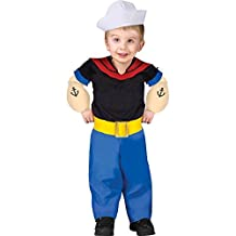 Popeye Halloween Costume - Toddler Size 24 Months-2T