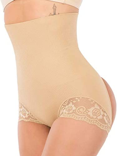 FUT Women Butt Lifter Body Shaper High Waist Cincher Trainer Panties Underwear Tummy Control Shapewear