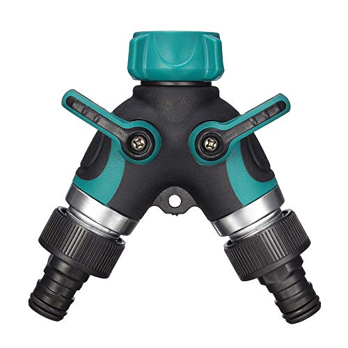 - Soaker Hose Splitter Garden Water Irrigation Connector 3/4 Faucet Adapter with Comfortable Rubberized Grip Extension Protector Outdoor Sprinkler & Drip