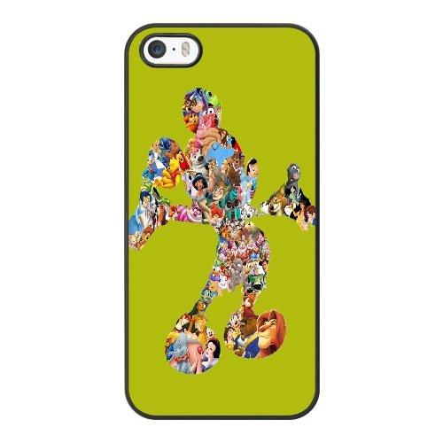 Coque,Coque iphone 5 5S SE Case Coque, Minnie Mouse Walt Disney Cover For Coque iphone 5 5S SE Cell Phone Case Cover Noir
