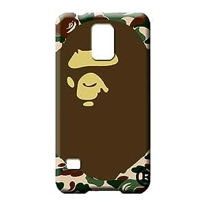 samsung galaxy s5 Shock-dirt durable skin phone back shells bape famous top?brand logo