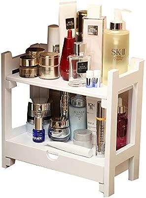 MEIDUO Estantes de pared Organizador cosmético, estante del ...