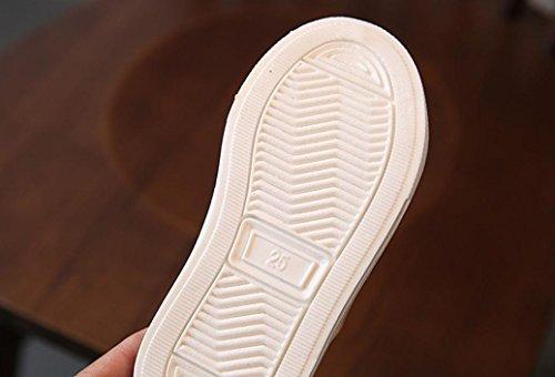 Hunpta Kleinkind Baby Mädchen Jungen Perlen beiläufige Turnschuh Schuhe im Freien nette Schuhe Weiß