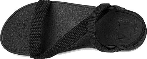 Sandalia Para Mujer Fitflop Z-strap Slide Negra