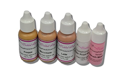 Tickled Pink Airbrush Aloe Foundation Light Sample Pack