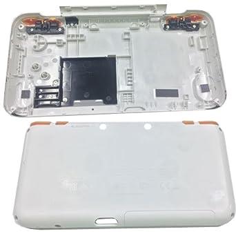 Carcasa Externa Inferior Blanca Naranja Nintendo New 2ds XL ...