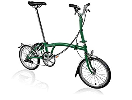 Buy Brompton Uk Easy To Fold Bike M6lu Rg Rg Sp6 Online At Low Prices In India Amazon In
