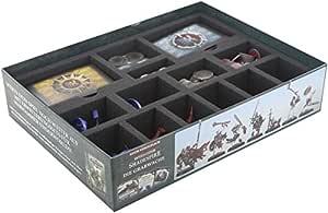 Feldherr Special Designed Foam Tray for Original Warhammer Shadespire Core Box Including Foam-Topper