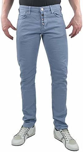 Mavi Jeans Yves faded blue twill