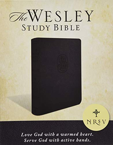 NRSV Wesley Study Bible - Charcoal Bonded Leather: New Revised Standard Version