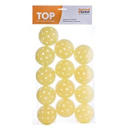 TOP ball (The Outdoor Pickleball), Baker\'s Dozen (13 balls) (Yellow)