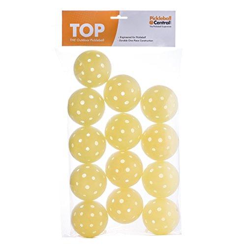TOP ball (The Outdoor Pickleball), Baker's Dozen (Yellow)
