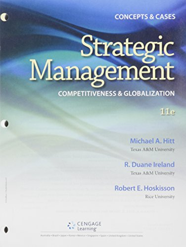 Bundle: Strategic Management: Concepts And Cases, 11th + General Mindink For MindTap Management Printed Access Card