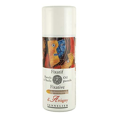 Fixative Pastel (Sennelier D'artigny Oil Pastel Sprayfix 400ml)