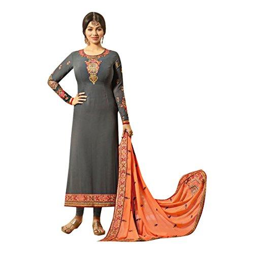 911 takia gerader traditioneller ayesha ethnischer bollywood messen Kleid Gewohnheit pakistanischer zu Anzug Designer Indischer langes salwar kultureller 16qnv
